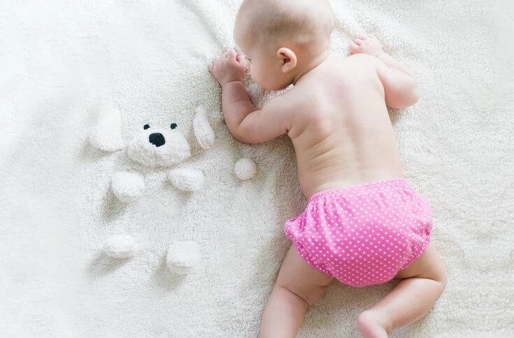 Trik pencegahan atau cara menghindari ruam popok pada bayi